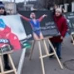 Молодогвардейцы провели акцию против решения WADA