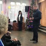 Пушкинские партийцы поздравили ветеранов с наступающим новым годом