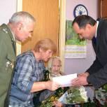 Александр Шаститко поздравил ветерана с вековым юбилеем