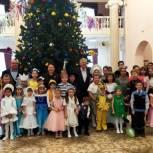 В городе Рыбное провели новогодний праздник для детей, находящихся под опекой