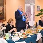Ступинские партийцы поздравили ветеранов с Новым годом
