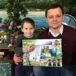 Депутат Шиловской районной Думы принял в акции «Подари детям праздник»