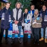 Открытка от Партии: В январские праздники единороссы поздравляли жителей Раменок
