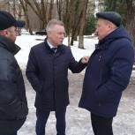 Сергей Юдаков проверил ход ремонта ДК «Выстрел» в Солнечногорске