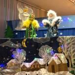 Одинцовские единороссы встретились с участниками спектакля «Рождественская сказка»