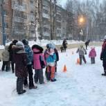 Новый ледовый каток появился на территории Кировского округа