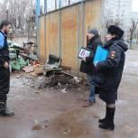 Единороссы Павловского Посада отработали жалобы граждан на несанкционированную торговлю
