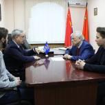 Юрий Липатов обсудил предстоящие выборы в Лыткарине с депутатами местного совета