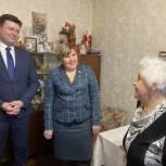 В Калуге «Единая Россия» поздравила с днём рождения старейшего партийца