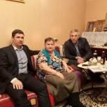 Сиражудин Гамидов посетил блокадниц Ленинграда, живущих в Махачкале