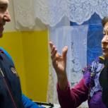 Анатолий Чиканчи навестил ветерана Великой Отечественной войны