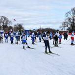 В Ряжске провели межрайонные лыжные гонки