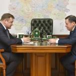 Состоялась рабочая встреча Николая Любимова и Андрея Макарова