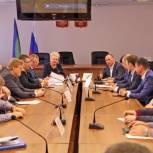 Депутаты от «Единой России» посетили Воркуту с рабочим визитом