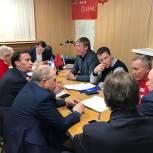В Лобне состоялось заседание политсовета Местного отделения партии «Единая Россия»