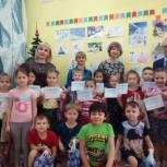 На Каштаке провели конкурс детских рисунков и организовали выставку