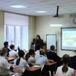 Ольга Швецова рассказала старшеклассникам о работе регионального парламента