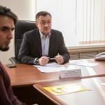 Пинский поможет решить проблему обеспечения многодетных семей земельными участками в Приморье