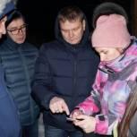 Сергей Смирнов провел выездное рабочее совещание по обращениям жителей Уптара