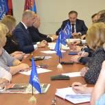 В Люберцах Владимир Ружицкий провел заседание местного политсовета