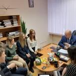 Андрей Красов встретился с учащимися Центра образования «Дистанционные технологии»