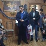 Луховицкие партийные активисты посетили пансионат для престарелых людей «Милосердие»