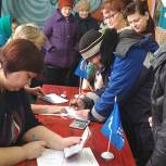 В Столпянском сельском поселении прошло предварительное голосование «Единой России»