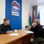 Александр Макаров провел прием граждан по личным вопросам