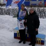 Петровские партийцы поздравили победителей и участников районных соревнований по лыжным гонкам
