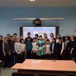 Партийцы Красноселькупа провели патриотическое мероприятие для школьников