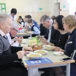 В Павловском Посаде партийцы провели проверку качества питания в образовательных учреждениях