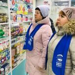 Партийцы Серпухова проверили цены и наличие медицинских масок в аптеках города