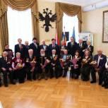 Тобольским ветеранам войны вручили юбилейные медали к 75-летию Победы
