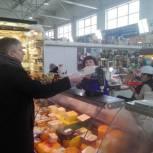 «Народный контроль» в Рыбинске проверил весовое оборудование в торговых точках
