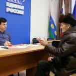 Тоболяки пришли на прием к Владимиру Майеру с личными вопросами и общественными обращениями