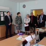 В Шацком районе завершили реконструкцию сельской школы