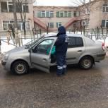 Фурмановским водителям напомнили о важности перевозки детей в автокреслах