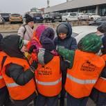 Автомобилистам Владивостока вручили праздничные послания