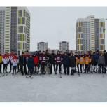 Октябрьский район: в рамках партпроекта завершены финальные игры по хоккею