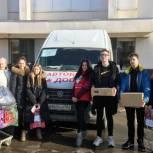Партийцы и сторонники «Единой России» в Саратове приняли участие в акции «Автобус добра»