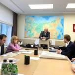 Одинцовские единороссы встретились с представителями советов домов в Новой Трехгорке