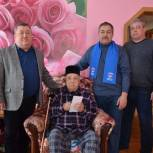 В Башкортостане партийцы поздравили ветеранов с Днем защитника Отечества