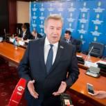 В окружном парламенте состоялась пресс-конференция по итогам тридцать шестого заседания Думы Югры