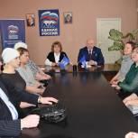 Андрей Красов рассказал сасовцам о новых мерах поддержки семей с детьми