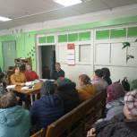 В ходе выездного приема жителям Шуйского района рассказали о новых мерах соцподдержки
