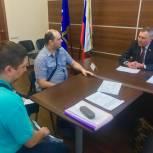 Ильдар Акчурин провел прием в Региональной общественной приемной Партии