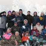 Качканарские единороссы встретили весну в горах