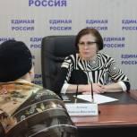 Наталья Логачева провела очередной прием граждан