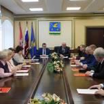 В Ступино состоялось заседание фракции «Единая Россия» местного совета депутатов