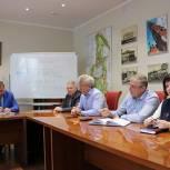На партийном часе в Павловском Посаде обсудили тему сохранности новых детских площадок